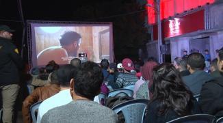 شاهد بالفيديو: افتتاح مهرجان السجادة الحمراء السينمائي لحقوق الإنسان في غزّة