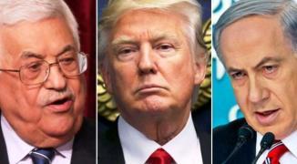 ترامب يلتقي نتنياهو وغانتس بواشنطن والرئيس عباس يرفض التحدث معه هاتفياً