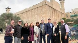 يارة أعضاء من الكونجرس الأمريكي لفلسطين