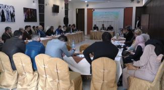 ورشة عمل لبحث دور وزارة الاقتصاد بغزة
