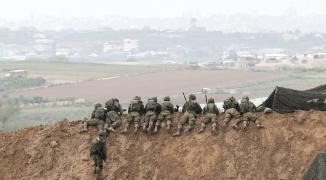 جيش الاحتلال يُعقب على غارات شنّتها طائراته في قطاع غزّة