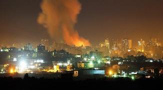 طائرات الاحتلال الحربية تستهدف مواقع في قطاع غزّة