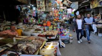 الأسواق الشعبية بغزة
