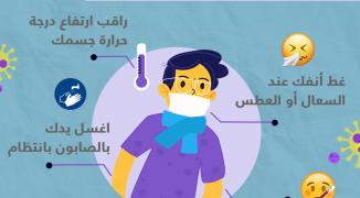 بعد تسجيل إصابات بغزة.. إرشادات مهمة للوقاية من فيروس كورونا ومنع انتقاله
