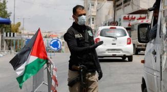 كورونا فلسطين.