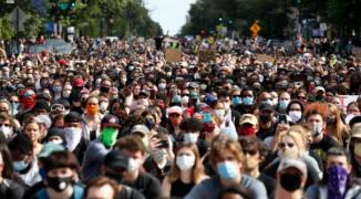 احتجاجات امريكا