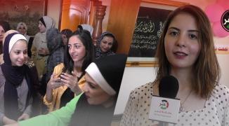 وكالة خبر تلتقي الأولى على فلسطين بالفرع الأدبي في الثانوية العامة