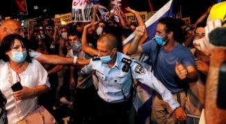 اعتقال متظاهرين