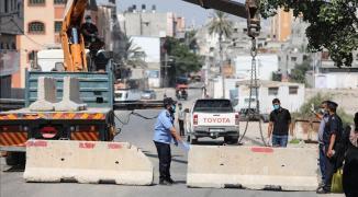 استمرار قرار حظر التجول بمحافظات قطاع غزة للحد من انتشار فيروس