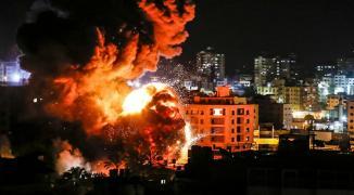 إسعاف غزة قصف