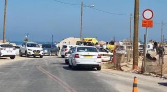 شاهد.. الإعلام العبري يزعم إصابة شرطيين إسرائيليين بعملية دهس في نهاريا