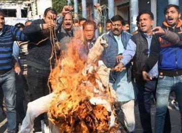 الهند: ضحية