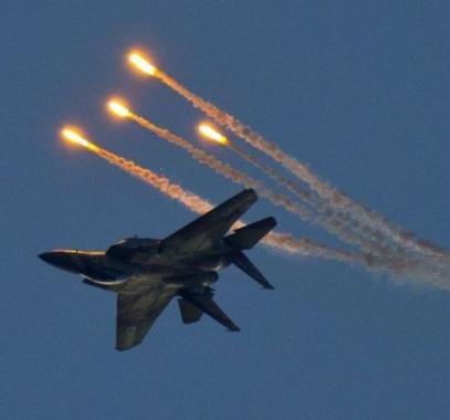 الانفجارات قرب غزة سببها مناورات لسلاح الجو الإسرائيلي