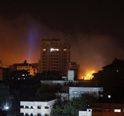 قصف على غزّة