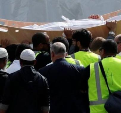 تشييع ضحايا مجزرة نيوزيلندا