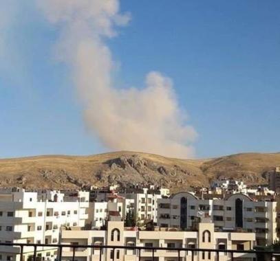 انفجار داخلي في دمشق