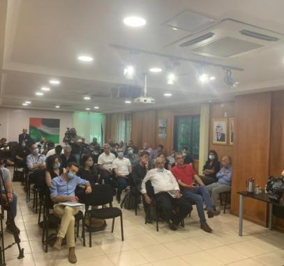 لجنة التواصل تنظم لقاءً مع صحفيين إسرائيليين
