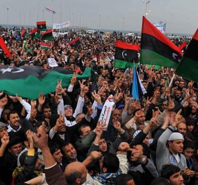 ثورة 17 فبراير في ليبيا
