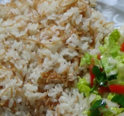 أرز بالشعيرية