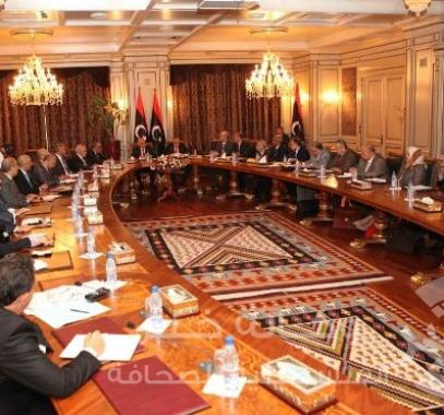 الحكومة-الليبية