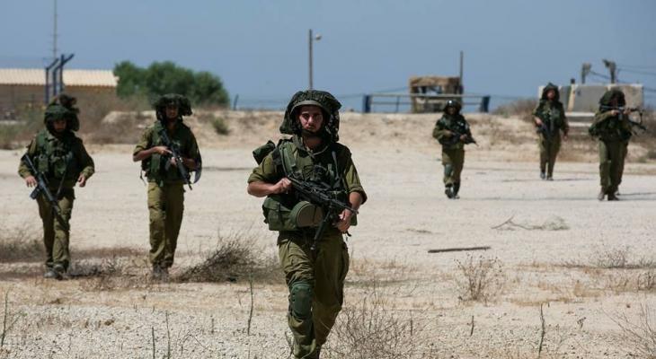 بالصور: الاحتلال يزعم تعرض موقع تابع للجيش لإطلاق نار من داخل حدود غزّة