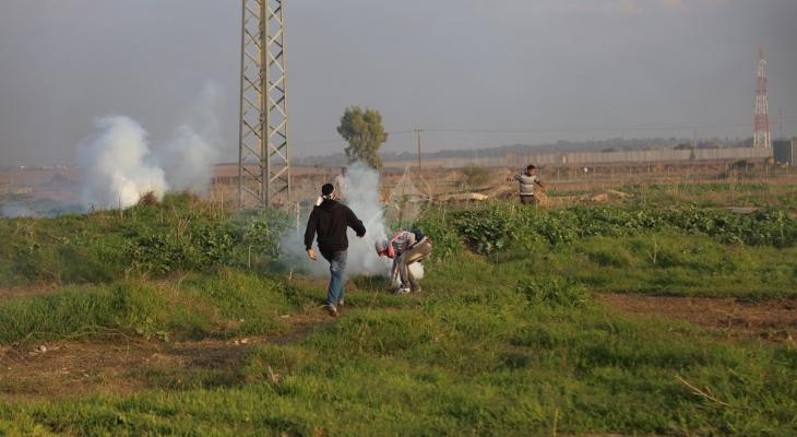 الاحتلال يستهدف أراضي المزارعين وسط قطاع غزة