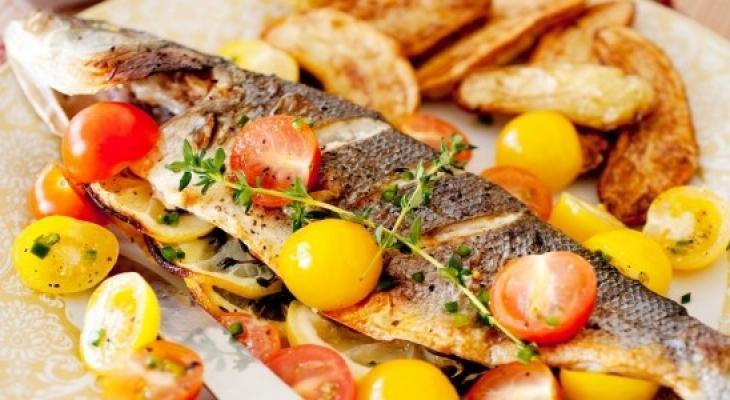 طرق تسخين السمك المقلي والمشوي بعد تجميده