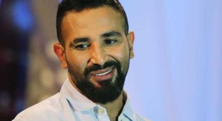 الفنان المصري أحمد سعد