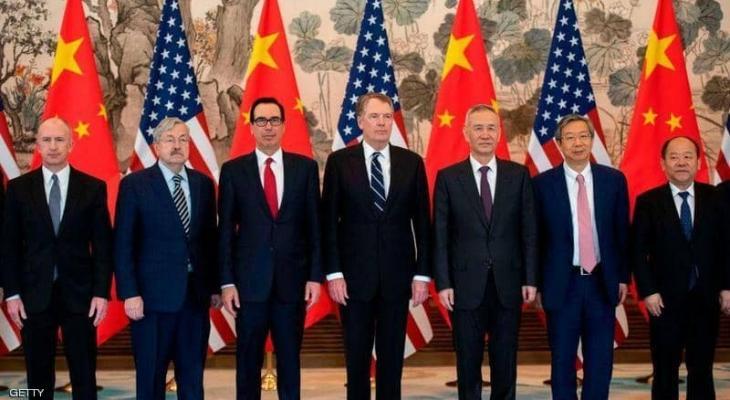 """""""أجواء إيجابية"""" تسود المفاوضات التجارية بين أميركا والصين"""