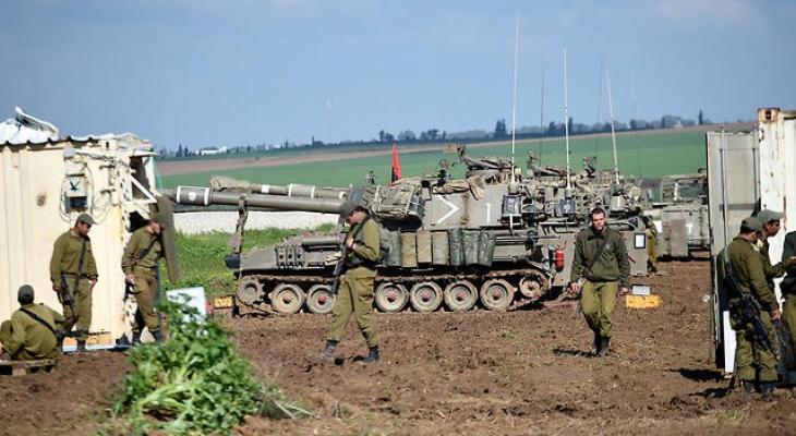 مدفعيات حدود غزة