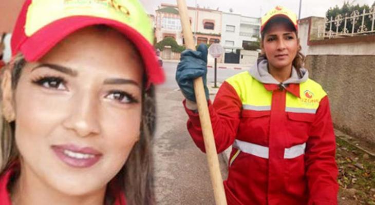 """بالصور: حسناء """"ملكة جمال"""" عاملات """"النظافة"""" فى المغرب"""