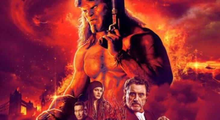"""شاهد: 5 ملايين دولار أمريكى إيرادات فيلم """"Hellboy"""" فى يومين"""