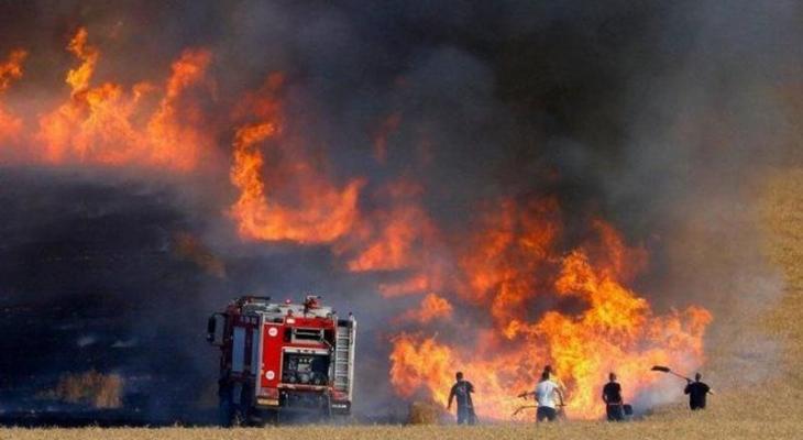 اندلاع حريق