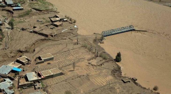 ارتفاع حصيلة الفيضانات في إيران إلى 70 قتيلاً