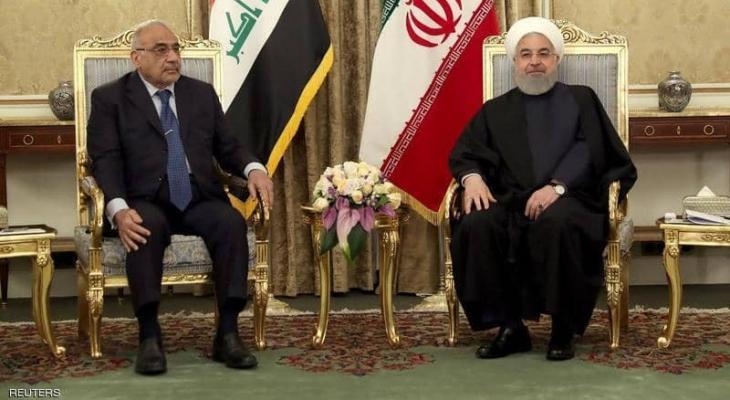 """إيران: تعد """"العراق"""" بتوسيع تجارة الطاقة والغاز"""