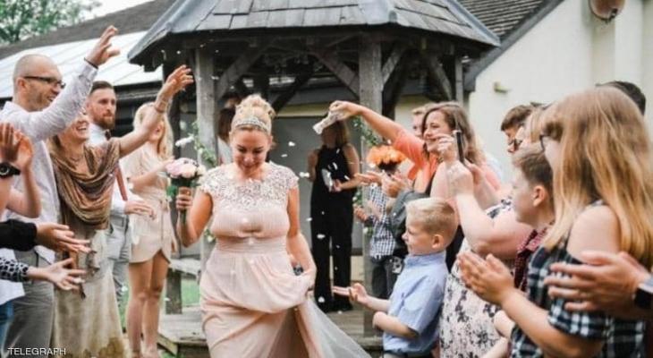 حب من طرف واحد .. عروس تزوجت نفسها