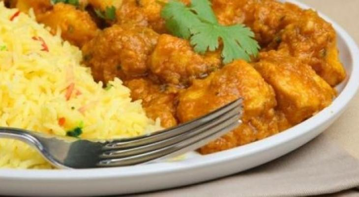 بالفيديو: دجاج بالأرز الكاري