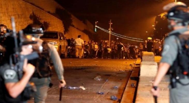 الاحتلال يُخلي المسجد الأقصى من المعتكفين لليلة الثالثة على التوالي