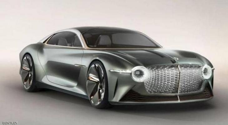 """بنتلي تطلق """"سيارة المستقبل"""" كهربائية بتصميم فاخر"""