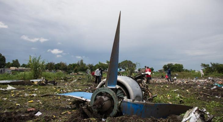 تحطم طائرة