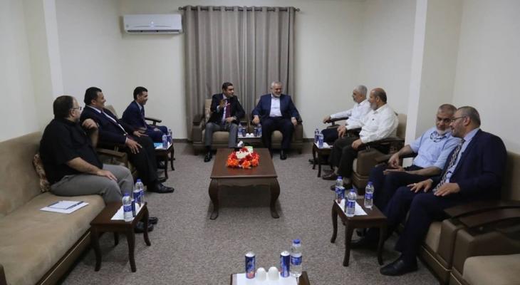 """كشف تفاصيل اجتماع """"حماس"""" بالوفد الأمني المصري في غزّة!"""