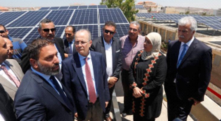 افتتاح أولى محطات توليد الكهرباء من الشمس برام الله