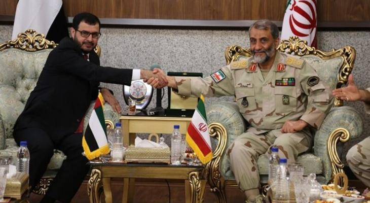 لقاء ايراني اماراتي