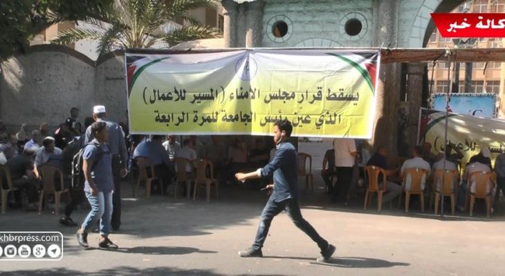 شاهد بالفيديو: نقابة العاملين بالأزهر تُعلن استمرار رفض تمديد مهام رئيس الجامعة