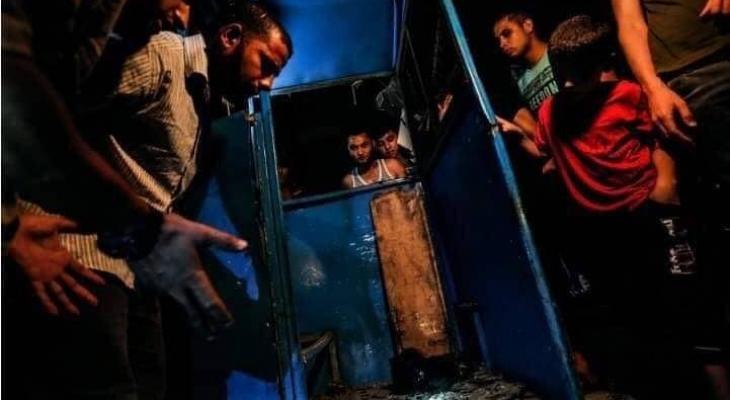 تفجير غزة