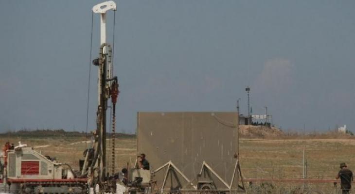جيس الاحتلال يقرر بناء جدار جديد على حدود غزة