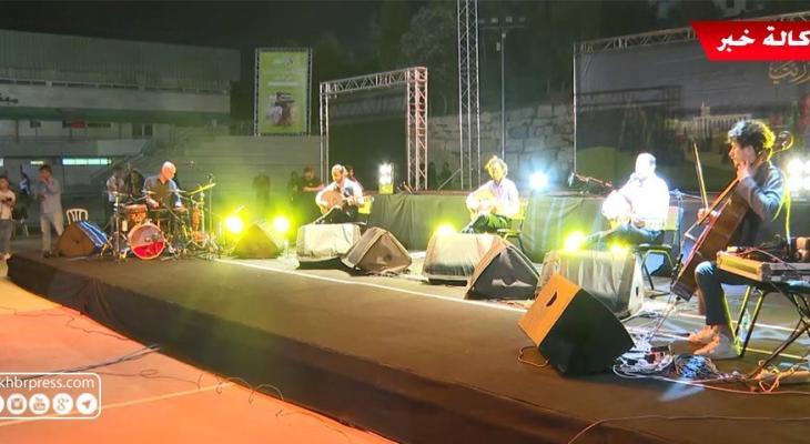 بالفيديو: انطلاق مهرجان ليالي بيرزيت بمشاركة الثلاثى جبران وفرقة الاستقلال