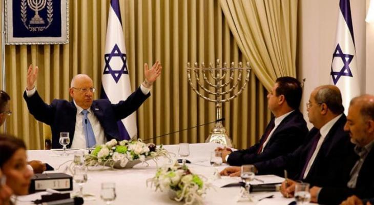 استمرار مشاورات تشكيل الحكومة في إسرائيل