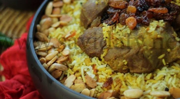 """طريقة عمل """"زربيان اللحم"""" من المطبخ السعودي"""