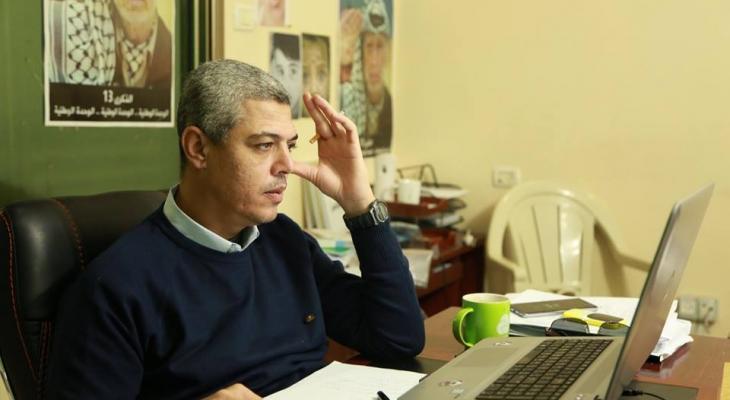 نادر يُهنئ جموع الصحفيين الفلسطينيين بمناسبة يوم الصحفي الفلسطيني